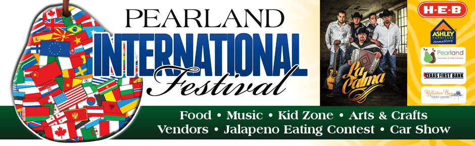 2nd Annual Pearland International Festival 2014 Celebrating Mexico September 13th, 11:00am - 9pm